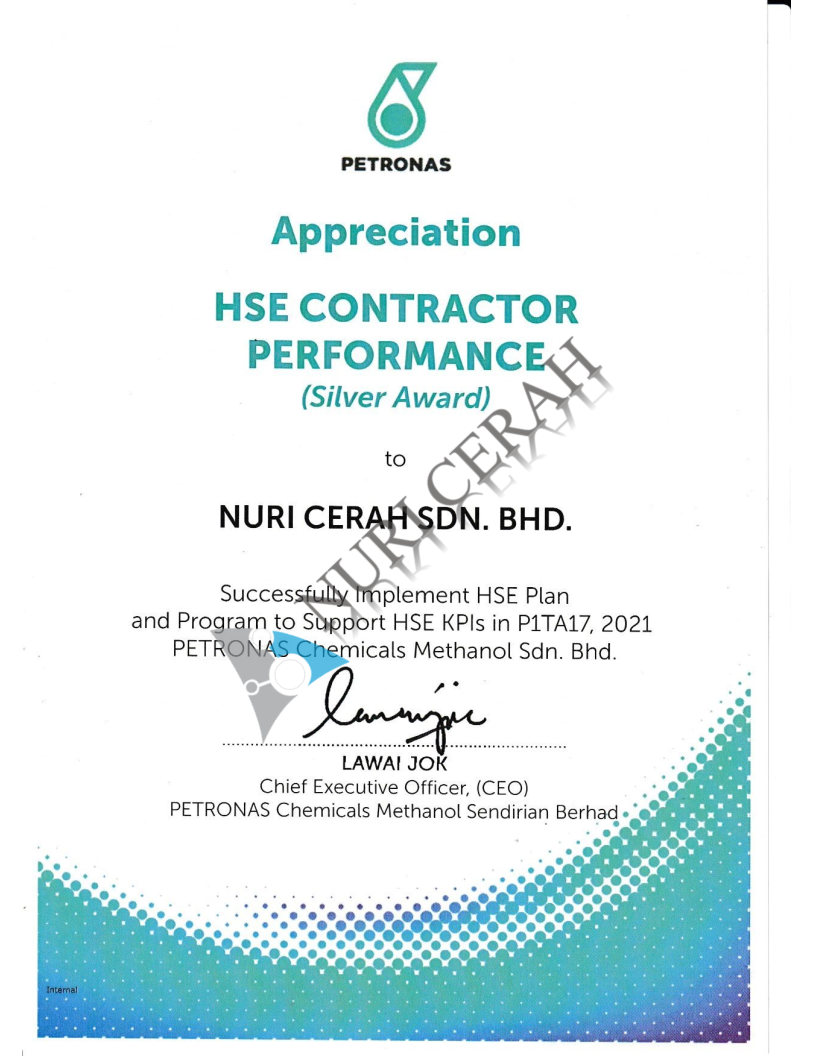 HSE Contractor Performence(1)